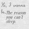 Hi, I wanna be. . . . <3