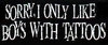 Mmmm, Boys With Tattoos