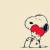 Snoopy with ♥