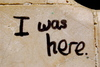 p.s. i was here
