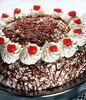 black forest cherry gateau cake