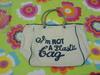 I am not plastic bag