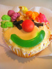 ♥ Vanilla Clown Cakes ♥