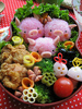 Three Little Piggy Bento !!