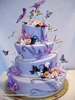 A very merry  unbirthday cake!